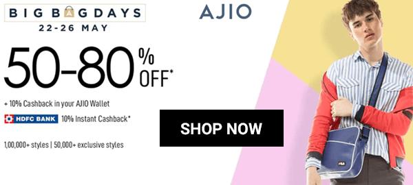 Ajio Offer