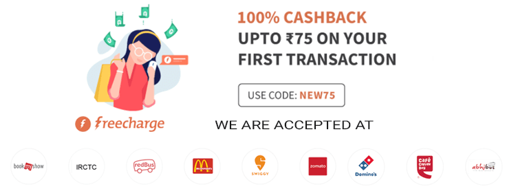 Freecharge Login Site